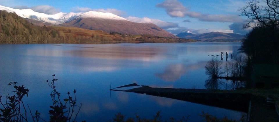 Loch Awe Log Cabins Argyll