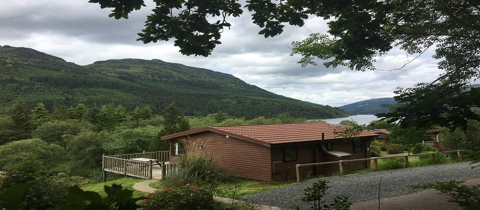 Whistlefield Lodges Loch Eck