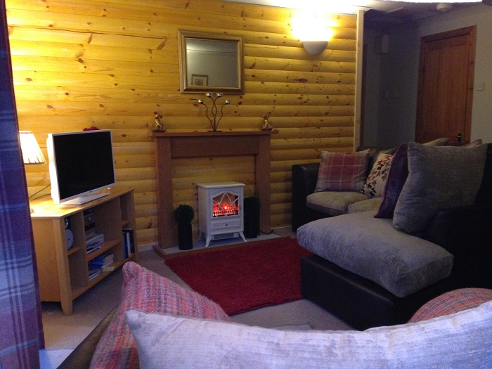 Loch Eck Log Cabins Sauna