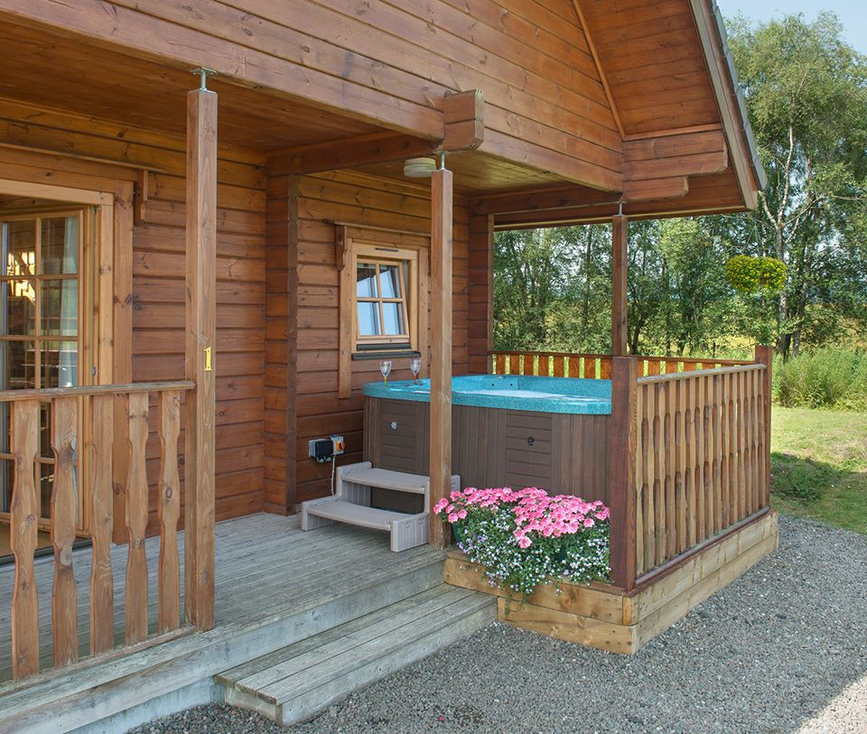 Luxury Lodges Aberfoyle Trossachs Hot Tubs