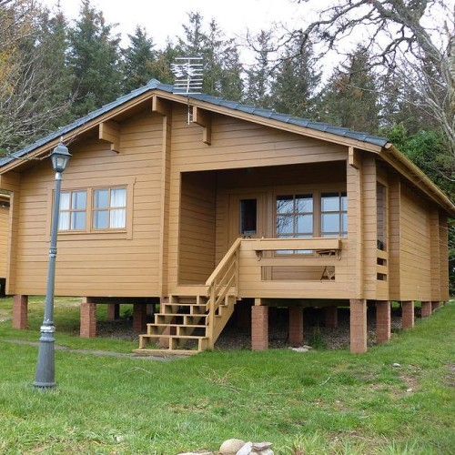 Moray Cottages: Moray Firth Log Cabins
