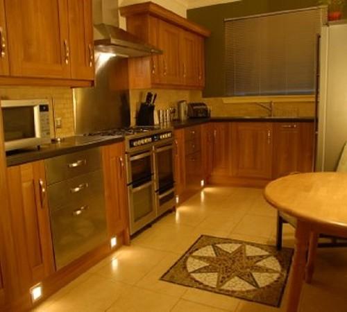 Luxury seaside villa with hot tub for Luxury kitchens scotland