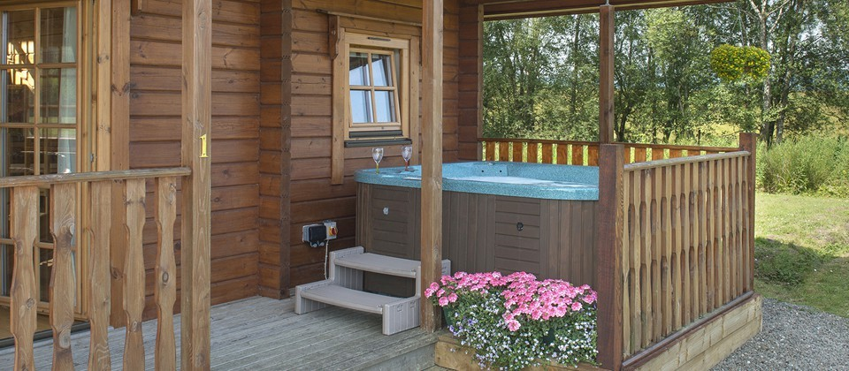 Benview Hot Tub Lodges Aberfoyle