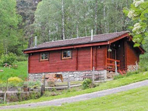 Highland Hideaway Cabin with Log Fire