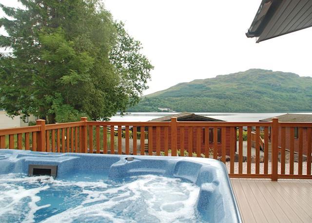 Loch Lomond Luxury Lochside Cabins