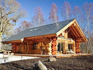 Luxury Highland Lodge Lochside with Hot Tub