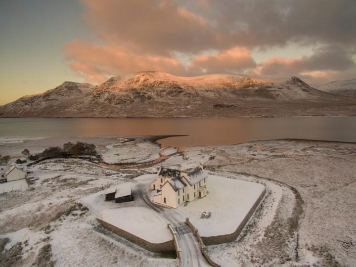 remote highland lodge escape sleeps 17