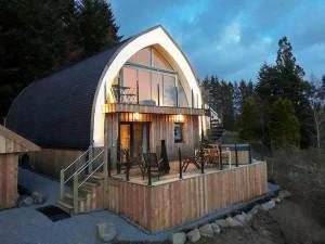 Luxury Highland Lodge with Hot Tub