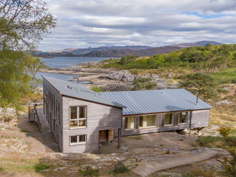 Luxury West Highland Coastal Lodge